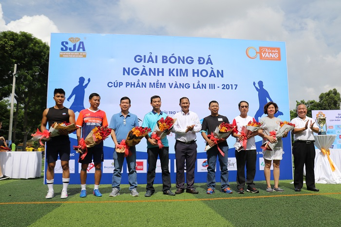 Giải Bóng Đá Ngành Kim Hoàn cúp Phần Mềm Vàng 2017